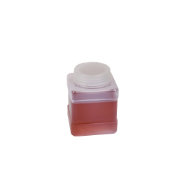 250mL Wide Mouth Polypropylene Square Storage Bottle with Cap