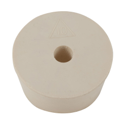 Silicone #10 Stopper with Hole