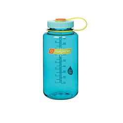 32 oz. Cerulean Wide Mouth Nalgene ® Everyday™ Tritan™ Bottles