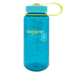 16 oz. Cerulean Wide Mouth Nalgene ® Sustain Bottle