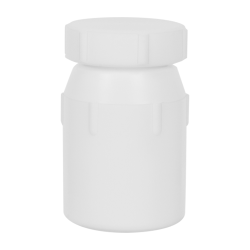 50mL Air Tight PTFE Bottle with Screw Closure Lid