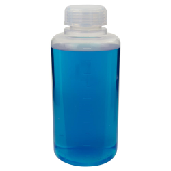 1000mL Chemware® PFA Graduated Wide Mouth Bottle with Cap