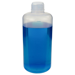 500mL Chemware® PFA Graduated Narrow Mouth Bottle with Cap