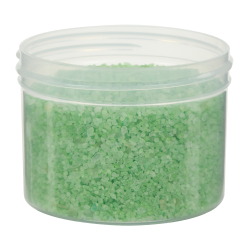 8 oz. Clarified Polypropylene Straight Sided Jar with 89/400 Neck (Cap Sold Separately)