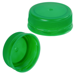 38mm Green ISS LDPE Tamper Evident Screw Cap