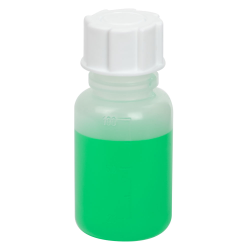 100mL Wide Mouth Graduated Polypropylene Bottle with Cap