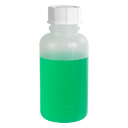 500mL Wide Mouth Graduated Polypropylene Bottle with Cap