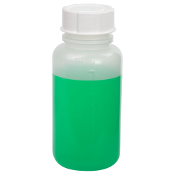 1000mL Wide Mouth Graduated Polypropylene Bottle with Cap