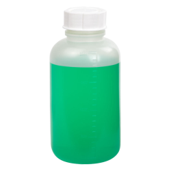 2000mL Wide Mouth Graduated Polypropylene Bottle with Cap