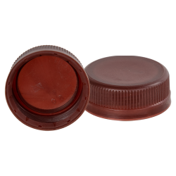 38mm Brown SSJ LDPE Tamper Evident Screw On Cap