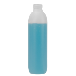 200mL Natural Polaris HDPE Bottle with 24/410 Neck (Cap Sold Separately)
