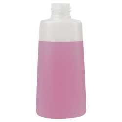 150mL Natural Lisbon Oblong HDPE Bottle with 24/410 Neck (Cap Sold Separately)