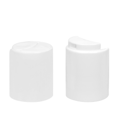 24/410 White Polypropylene Xpress Cap with Bore Seal