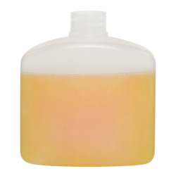 250mL Natural HDPE Rectangular Bottle with Round Shoulders & 28/410 Neck (Cap Sold Separately)