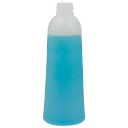 6.76 oz./200mL Natural HDPE Eternal Tapered Round Bottle with 24/410 Neck (Cap Sold Separately)