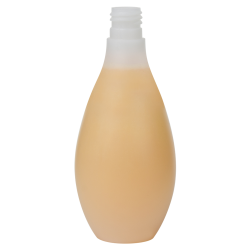 6.76 oz./200mL Natural HDPE Vase Round Bottle with 20/415 Neck (Cap Sold Separately)