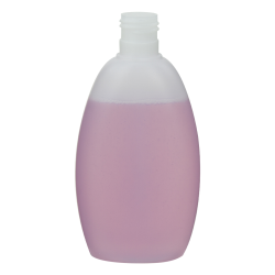 250mL Apollo Oval HDPE Bottle with 24/415 Neck (Cap Sold Separately)