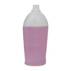 17.99 oz./532mL Swish Oval HDPE Bottle with 24/410 Neck (Cap Sold Separately)