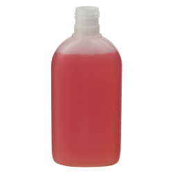 6.76 oz./200mL Utopia Oval HDPE Bottle with 24/415 Neck (Cap Sold Separately)