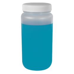 2 Liter Diamond ® RealSeal™ Polypropylene Large Format Round Bottle with 100mm Cap