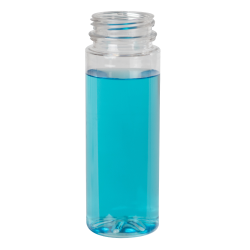 2 oz. Energy Shot Bottle with 38mm DBJ Neck (Cap Sold Separately)
