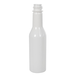5 oz. White PET Woozy Bottle with 24/414 Neck (Cap & Fitment Sold Separately)
