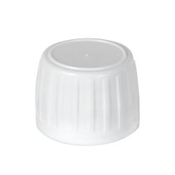 White Tamper Evident Screw Cap with Foam/Aluminum Liner for AP28 Bottle