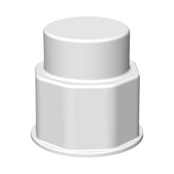 """1-1/8"""" VersaBarb ® Closed Cap"""
