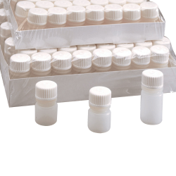 15mL Nalgene™ Sterile HDPE Diagnostic Bottles with 20/415 Caps - Case of 896
