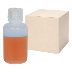 2 oz./60mL Nalgene™ Narrow Mouth IP2 HDPE Shipping Bottles with 20mm Caps - Case of 72