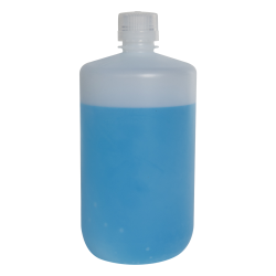 2 Liter Diamond ® RealSeal™ Polypropylene Large Format Round Narrow Mouth Bottle with 38/430 Cap