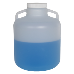 10 Liter Diamond ® RealSeal™ Round Wide Mouth Polypropylene Carboy