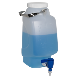 5 Liter Diamond ® RealSeal™ Rectangular Polypropylene Carboy with Spigot