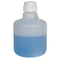 10 Liter Diamond ® RealSeal™ Round Heavy-duty Polypropylene Carboy
