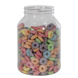 32 oz. Clear PET Jar with 70/400 Neck (Caps Sold Separately)