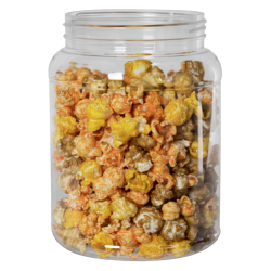 68 oz. Clear PET Jar with 110/400 Neck (Caps Sold Separately)