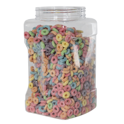 128 oz. (1 Gallon) Clear PET Pinch Grip-It Jars with 120mm Neck (Cap Sold Separately)