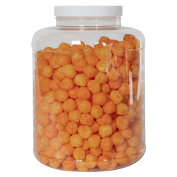 256 oz. Clear PET Jar with 120/400 Cap