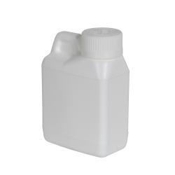 4 oz. White F-Style Jug with 24/400 White CRC Cap