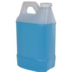 2 Liter Natural F-Style Handleware Jug with 38/400 Plain Cap