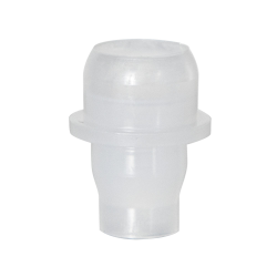 Clear Polypropylene Fitment for 17mm Glass Roll-On Bottle