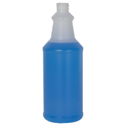 32 oz. Natural Decanter Spray Bottle with 28/410 Neck (Sprayers or Caps Sold Separately)