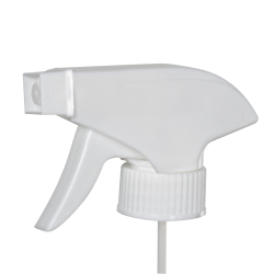 28/400 White Polypropylene Retail Trigger Sprayer with 10