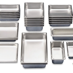 Stainless Steel Containers Category Stainless Steel Pans