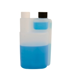 16 oz. Bettix Bottle with 1/2 & 1 oz. Dispensing Chambers & 28/410 Neck