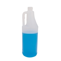 32 oz. Round Natural Jug with 28/410 Neck (Cap Sold Separately)
