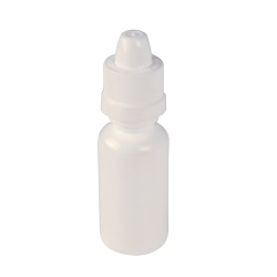 15cc White Boston Round Bottle with 15/415 SecureCap ® Child Resistant Closure