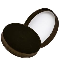 89/400 Polypropylene Black Cap with Heat Induction Liner