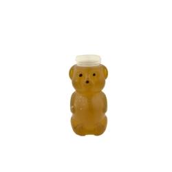 8 oz. LDPE Honey Bear Bottle with 38/400 Neck (Cap Sold Separately)