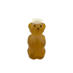 12 oz. LDPE Honey Bear Bottle with 38/400 Neck (Cap Sold Separately)